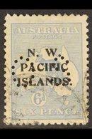 "NWPI OFFICIAL 1919-23 6d Greyish Ultramarine Roo Overprint, SG O9a, Fine Used With ""Namatanai"" Cds's, Good Centring, Fre - Papua New Guinea"