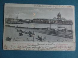 Sint-Petersbourg - Quai Anglais - Sent To Namur Belgium - See Scans - Russie
