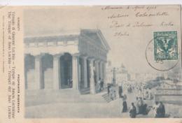 GIRGENTI-AGRIGENTO-TEMPIO DI GIUNONE-BELLA CARTOLINA VIAGGIATA IL 5-5-1905 - Agrigento