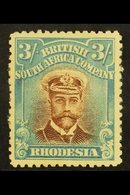 1913-19 3s Chestnut & Light Blue, SG 237, Mint, Small Part OG, Nice Appearance For More Images, Please Visit Http://www. - Great Britain (former Colonies & Protectorates)