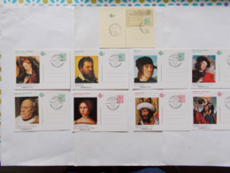 BELGIQUE - LOT DE    N° BK 1 + BK 2/9 Oblitérés 1er Jour  ( Voir Photo )  12 - Stamped Stationery