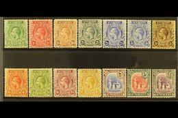 1921-32 KGV Wmk Script CA, Complete Set, SG 131/41, Very Fine Mint (14 Stamps). For More Images, Please Visit Http://www - St.Vincent (...-1979)