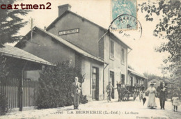 LA BERNERIE LA GARE CHEMIN DE FER 44 - La Bernerie-en-Retz