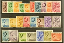 "1938-49 DEFINITIVES. A Complete ""Basic"" Definitive Set, SG 135/49, Fine Mint (25 Stamps) For More Images, Please Visit H - Seychelles (...-1976)"