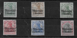 Sellos De Marruecos 20/23, 24 Y 27 O Valor Catálogo 48.70€ - Oficina: Marruecos