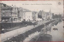 Dinant Quai De Meuse Et Hotel De Familles G. Hermans Anvers 1913 - Dinant