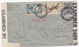 Argentina. 16/5-42. Zensur Letter To England. Exam Bermuda 6675 - Argentina