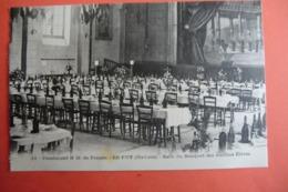 CPA 43 HAUTE LOIRE LE PUY EN VELAY. Pensionnat N.D De France. Salle Du Banquet Des Anciens élèves. - Le Puy En Velay