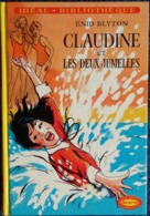 Enid Blyton - CLAUDINE Et  Les Deux Jumelles - Idéal Bibliothèque - ( 1971 ) . - Bücher, Zeitschriften, Comics