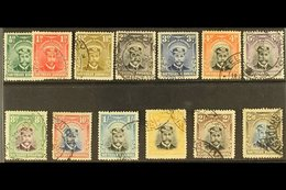 """1924-29 KGV """"Admiral"""" Set Complete To 2s6d, SG 1/13, Good To Fine Used. (13 Stamps) For More Images, Please Visit Http:/ - Southern Rhodesia (...-1964)"""