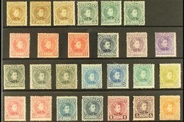 1901-5 ALFONSO XIII SEMI SPECIALISED MINT SELECTION. An Attractive Mint Selection With Shaded Examples Arranged On A Sto - Spain