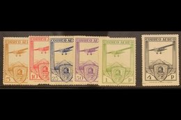 1930 Railway Conference (Air) Complete Set, SG 547/552, Fine Mint. (6 Stamps) For More Images, Please Visit Http://www.s - Spain