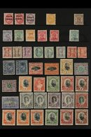 1891-1949 MINT COLLECTION An Attractive Mint Collection Presented Neatly That Includes The 1891 Surcharged Set, 1892 1s  - Tonga (...-1970)