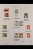1937-51  INTERESTING VFU KGVI COLLECTION Presented On Neatly Written Up Pages With Many Shade & Watermark Variants & A S - Tonga (...-1970)
