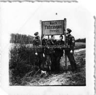 Petite PHOTO  FERANGE EBERSVILLER  1939/1945  RAD 85 - Autres Communes
