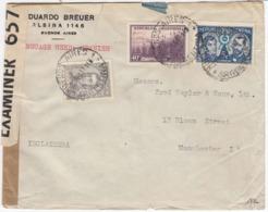 Argentina. 22/2-41. Zensur Letter To England. - Argentina