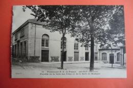 CPA 43 HAUTE LOIRE LE PUY EN VELAY. Pensionnat N.D De France. Façade De La Salle Des Fêtes Et De La Salle De Musique. - Le Puy En Velay