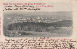 St. Peter In Der Au (Seitenstetten) * Gesamtansicht * Österreich * AK1509 - Amstetten