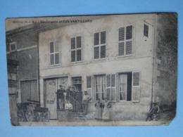 BOUCQ  (Meurthe & Moselle) -- Boulangerie Et Café Vantillard - TRES ANIMEE - France
