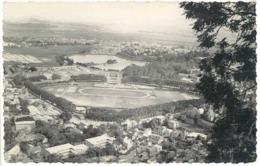 Cpa Carte-photo Stade De Football , Madagascar, Lac Anosy Tananarive  ( SPO ) - Calcio