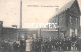 Conservenfabriek Talpe - Cortemarck - Kortermark - Kortemark