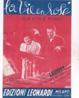 LA VIE EN ROSE TESTO IN ITALIANO  AUTENTICA 100% - Música & Instrumentos
