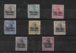 Sellos De Marruecos 46/49, 50I, 51x, 53I Y 54 O Valor Catálogo 87.10€ - Oficina: Marruecos
