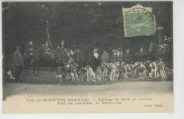 CHASSE A COURRE - Forêt De SENONCHES - Equipage Du Baron De Dorlodot - Rond Des Louvetines - Le Rendez-vous - Chasse