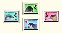 FALKLAND ISLANDS - 1980 Birds Of Prey Set Unmounted/Never Hinged Mint - Falklandeilanden