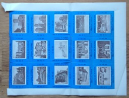 ITALIA, OLYMPICS IN ROME TOURIST LABELS AUTOCOLLANTS TOURISTIQUES ADESIVI TURISTICI VISITEZ VITERBE VITERBO 1960 - Tourism Brochures