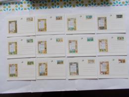 BELGIQUE - N°   N° BK 54 A 65 Les 12 Cartes   ( Voir Photo )  20 - Stamped Stationery