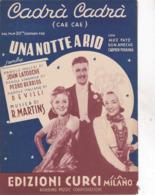 CADRA CADRA  DAL FILM UNA NOTTE A RIO AUTENTICA 100% - Musique & Instruments
