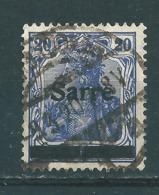 Saar MiNr. 8 A   (r13) - Gebraucht