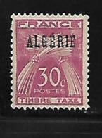 Algérie 1947 Yvert Taxe 34 Neuf** MNH (AA57) - Portomarken