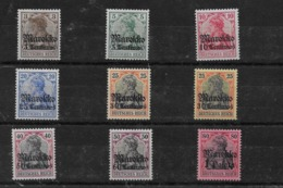 Sellos De Marruecos 46/49, 50I, 50II, 52, 53 Y 54 * Valor Catálogo 17.10€ - Oficina: Marruecos