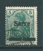 Saar MiNr. 4 A   (r13) - Gebraucht