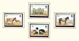 FALKLAND ISLANDS - 1981 Farm Animals Set Unmounted/Never Hinged Mint - Falklandeilanden