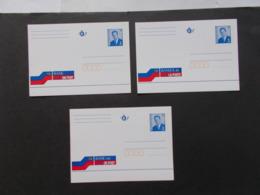 BELGIQUE -  Lot De 3 Banque De La Postes Dans Les 3 Langues    ( Voir Photo )  22 - Postwaardestukken