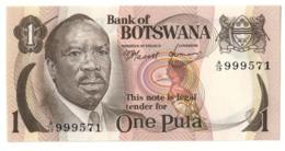 BOTSWANA1PULA1976P1UNC.CV. - Botswana
