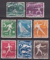 1928 Olympiade Amsterdam Complete Gestempelde Serie NVPH 212 / 219 - 1891-1948 (Wilhelmine)