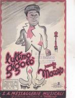 L'ULTIMO GIGOLO' S.A. MESSAGGERIE MUSICALI   AUTENTICA 100% - Musique & Instruments