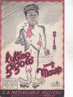 L'ULTIMO GIGOLO' S.A. MESSAGGERIE MUSICALI   AUTENTICA 100% - Música & Instrumentos