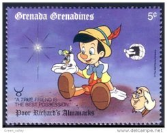 462 Grenada Grenadines Disney Pinocchio MNH ** Neuf SC (GRG-62a) - Grenade (1974-...)