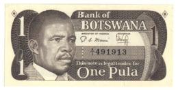 BOTSWANA1PULA1983P6UNCS/N A1.CV. - Botswana