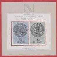 1983 ** Islande  (sans Charn., MNH, Postfrish)  Yv  BF 5Mi  Block 5FA  Block 5 - 1944-... Republic