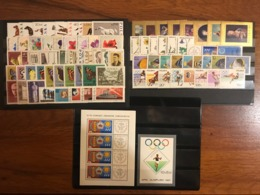 Poland 1967 Complete Year Set With Souvenir Sheets Basic MNH Perfect Mint Stamps 81 Stamps And 1 Souvenir Sheet - Polonia