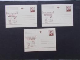BELGIQUE -  Lot De 3  Les Entiers Postaux Dans Les 3 Langues     ( Voir Photo )  24 - Postwaardestukken
