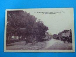 85 ) Sainte-hermine - N° 18 - Champ De Foire Et Route De Fontenay  -   Année 1931 - EDIT - Artaud - Sainte Hermine