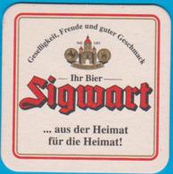 Brauerei Sigwart Weißenburg ( Bd 2782 ) - Beer Mats