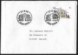 1994 - BELGIË/BELGIQUE/BELGIEN - Cover + Y&T 2557 [Schaarbeek] + IEPER - Belgium
